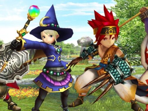 """Final Fantasy Explorers: Trailer """"Explore and Fight Together"""""""