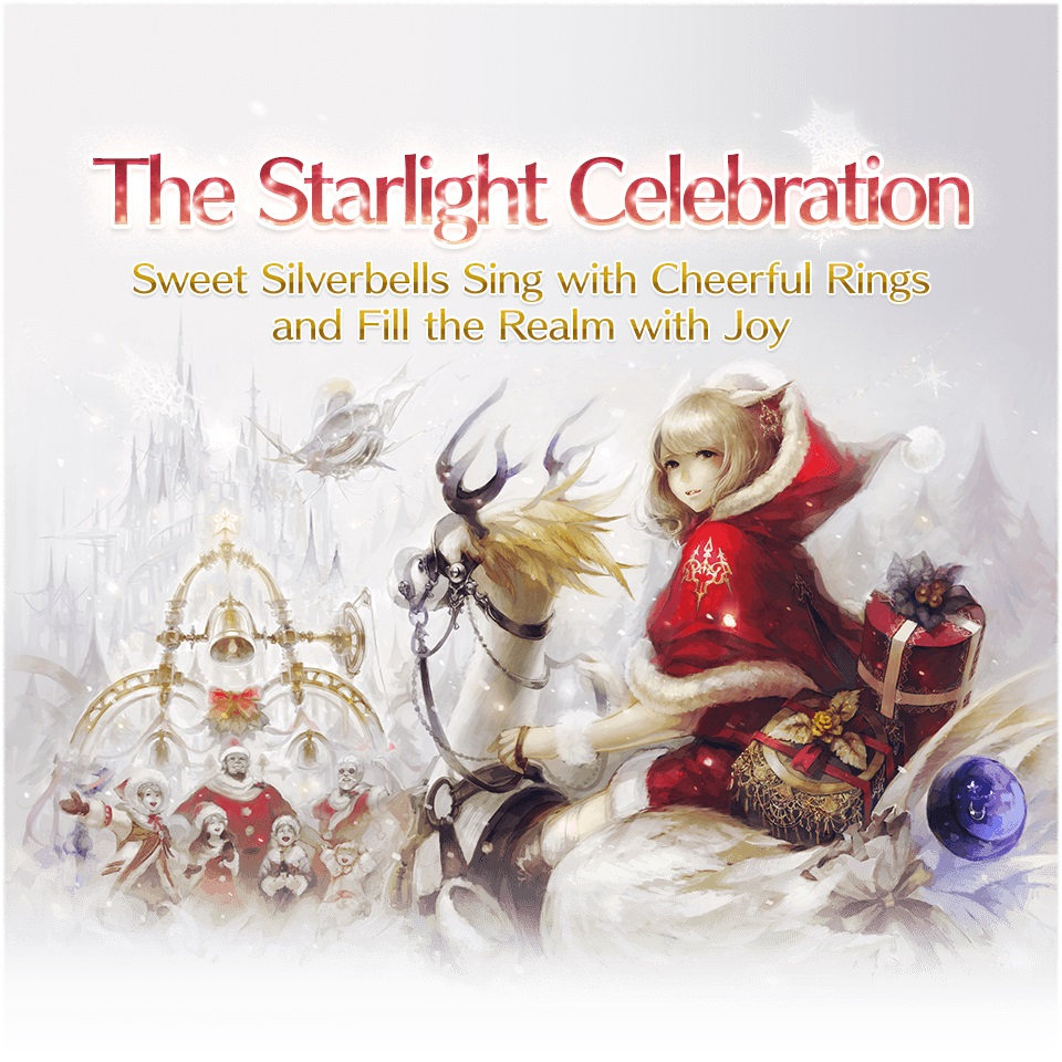 Final Fantasy XIV: Holy night in Eorzea