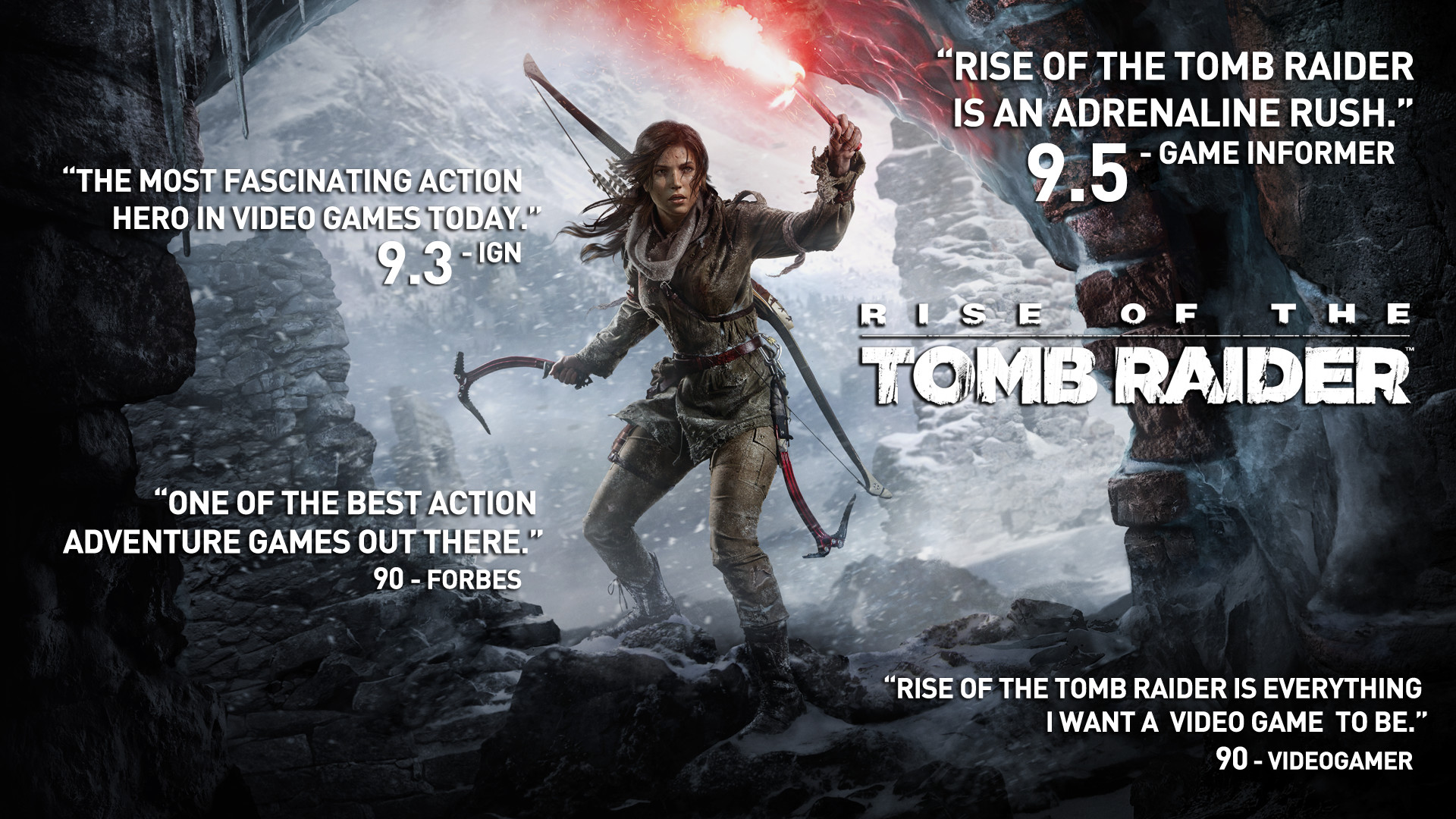Rise of the Tomb Raider su PC (Steam)